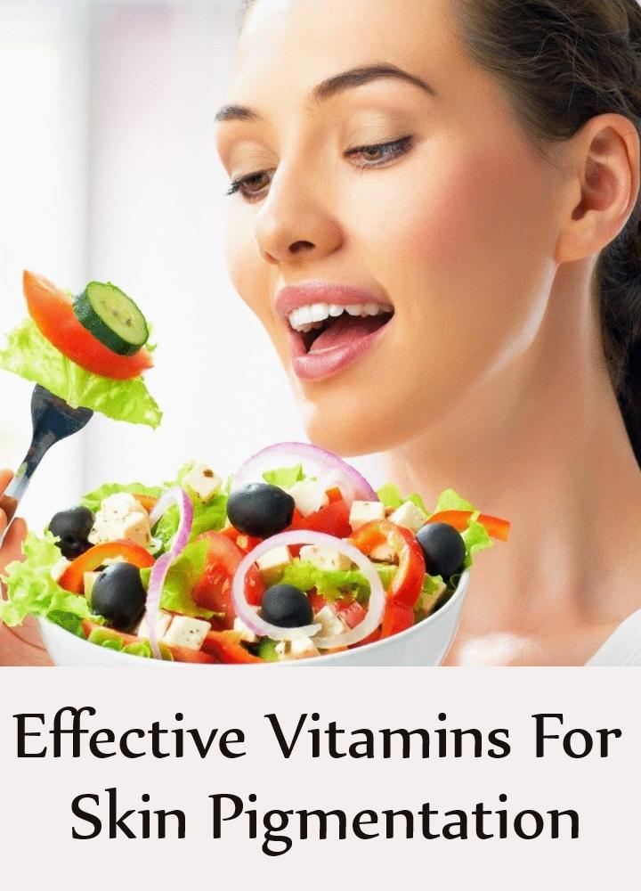 Effective Vitamins For Skin Pigmentation
