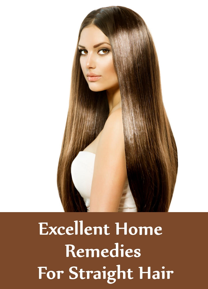 Excellent Home Remedies For Straight Hair