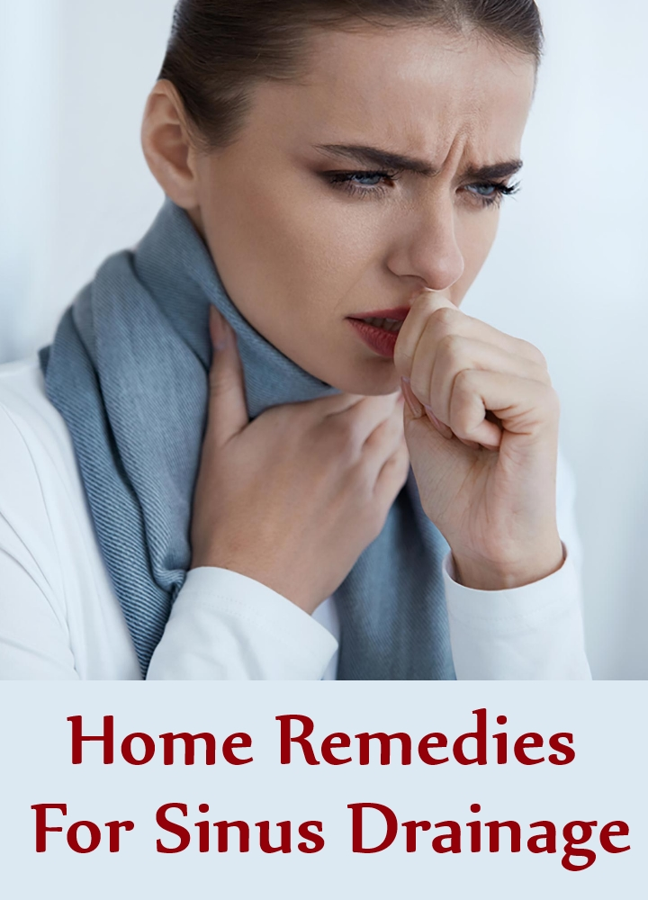 Home Remedies For Sinus Drainage