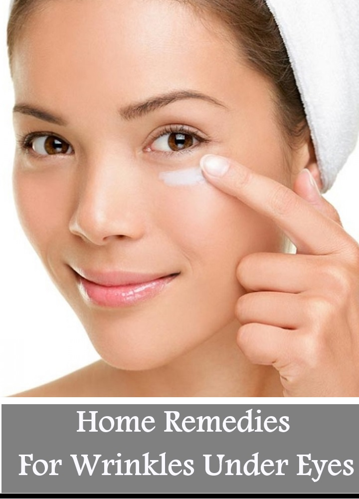 16 Home Remedies For Wrinkles Under Eyes