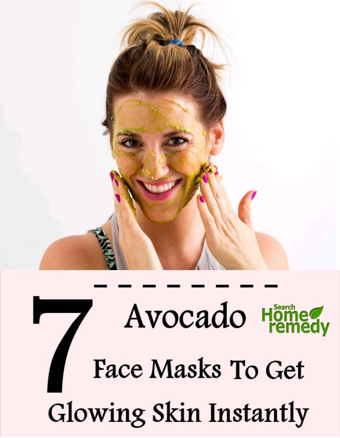 7 Avocado Face Masks