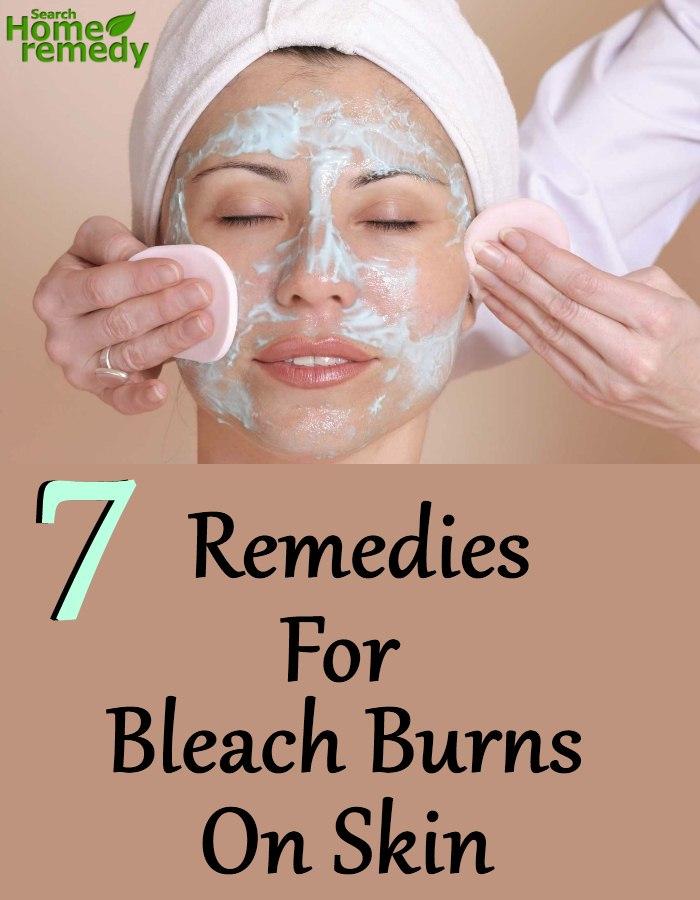 Bleach Burns On Skin