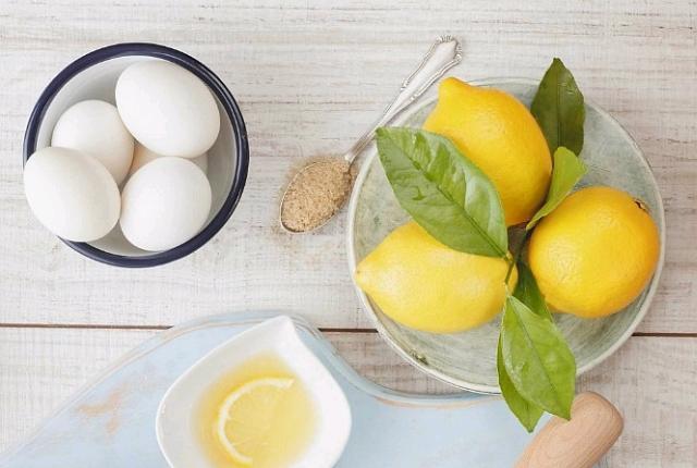 Egg White-Lemon Juice
