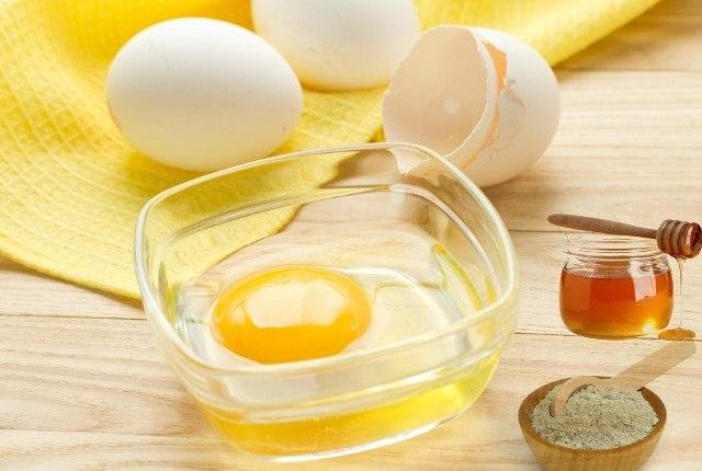 Egg White With Honey