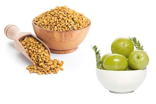 Fenugreek And Indian Gooseberry Hair Mask