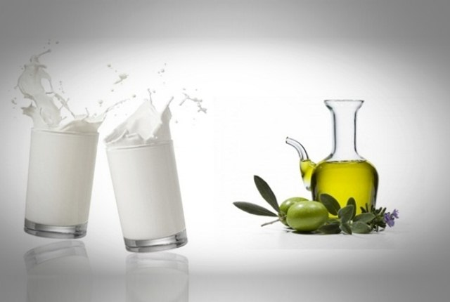 Milk With Olive Oil