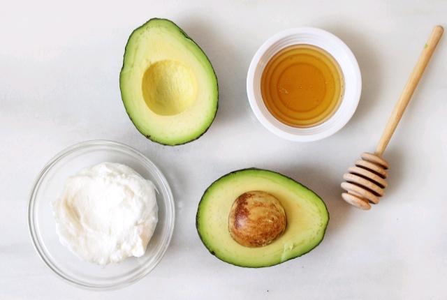 Yogurt Avocado Mask
