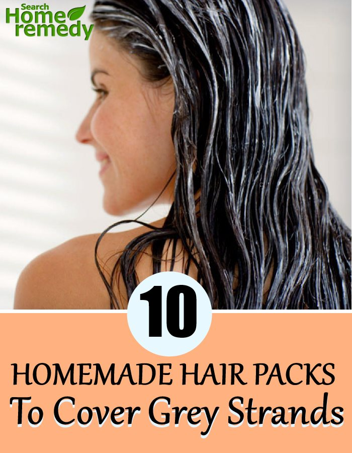 10 Homemade Hair Packs To Cover Grey Strands
