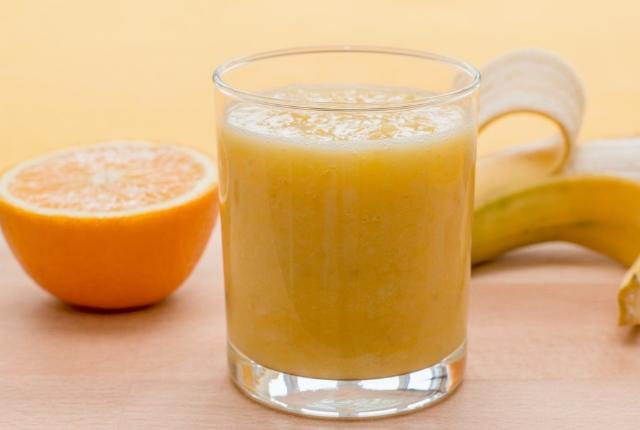 Banana Yogurt Orange Juice Mask