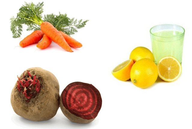 Beetroot, Carrot Lemon Juice