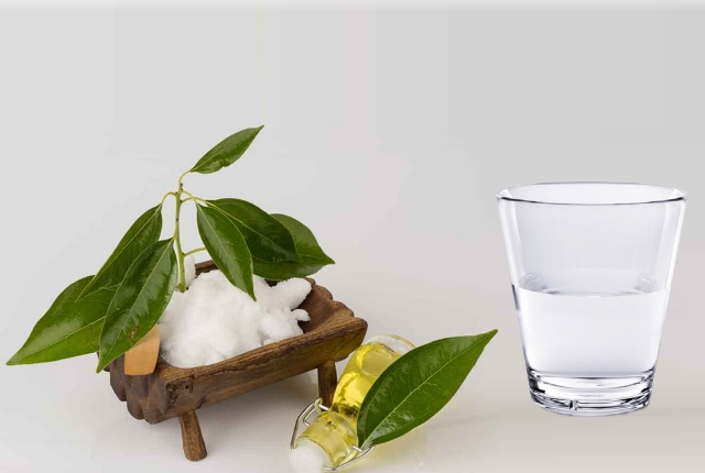 Camphor And Water Remedy