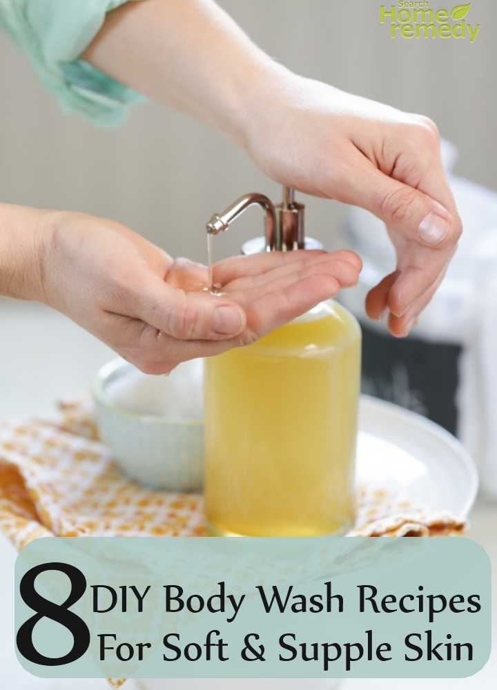 DIY Body Wash Recipes For Soft And Supple Skin