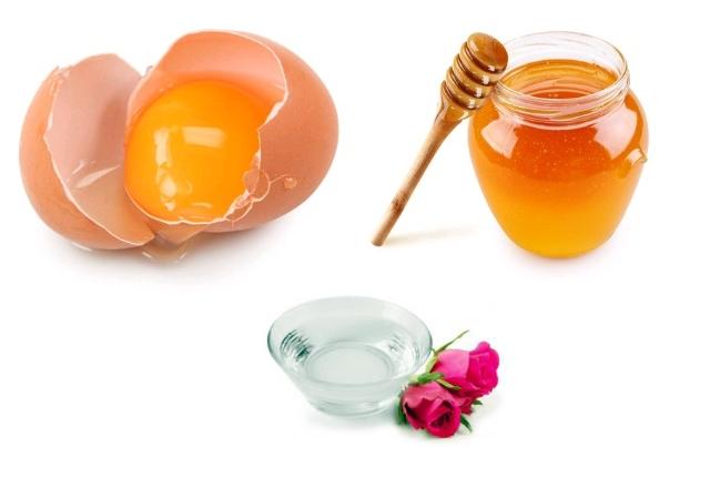 Egg, Rose Water & Honey