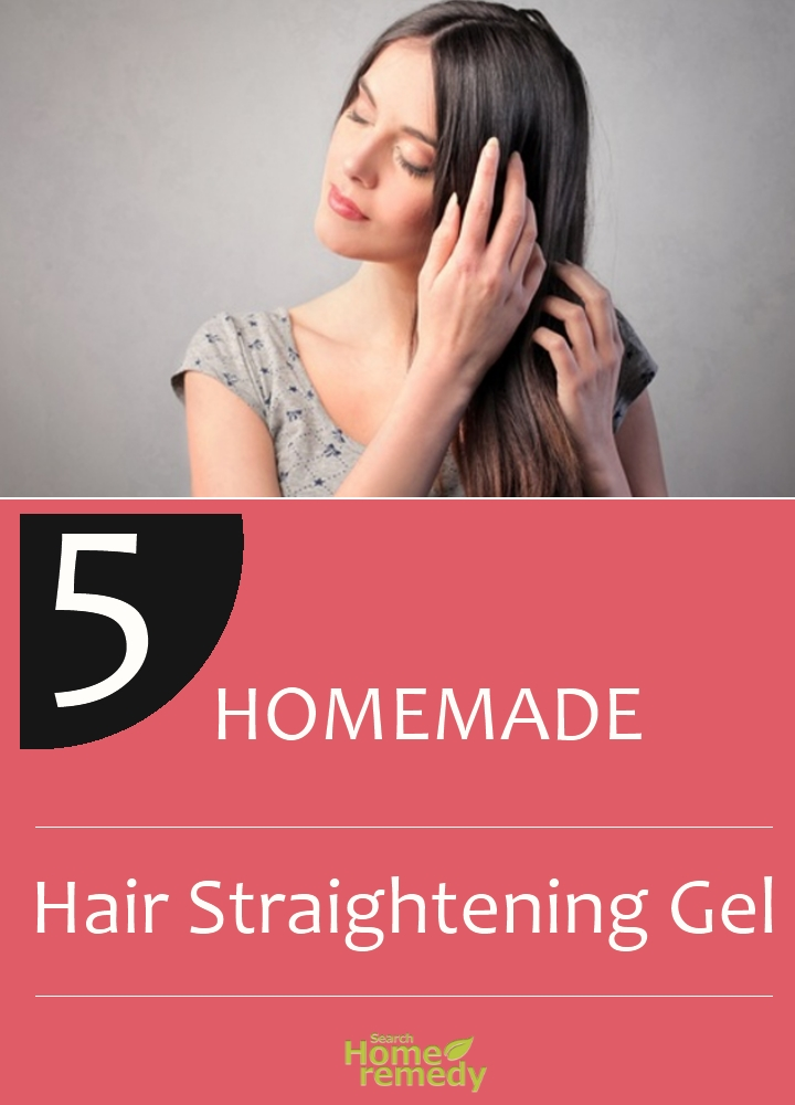 Homemade Hair Straightening Gel