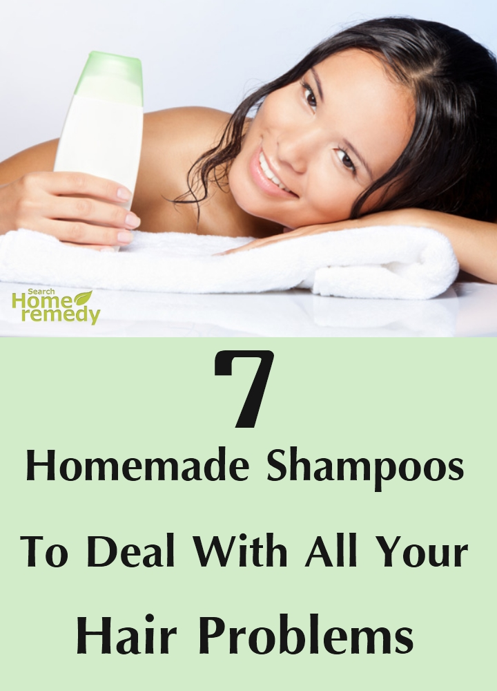 Homemade Shampoos To Deal With All Your Hair Problems