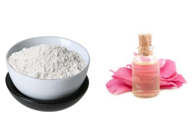 Kaolin Clay And Rose Water Beauty Recipe