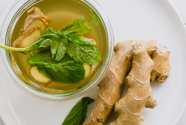 Mint Ginger Water