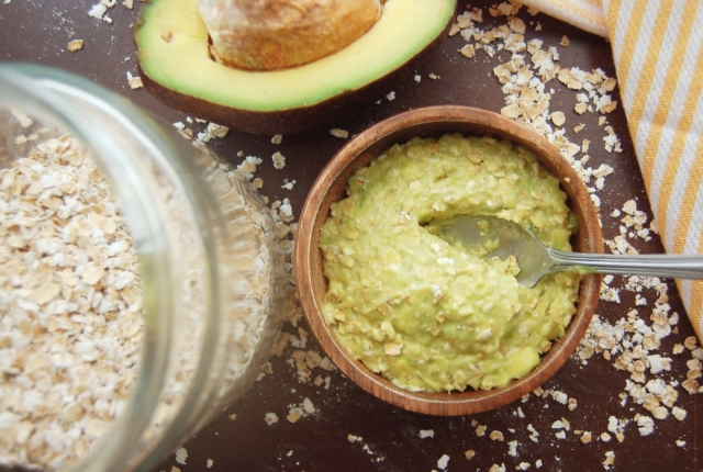 Oatmeal With Avocado