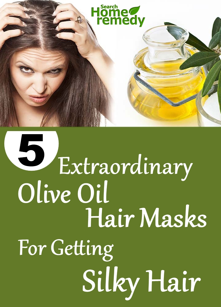 Olive Oil Hair Masks For Getting Silky Hair