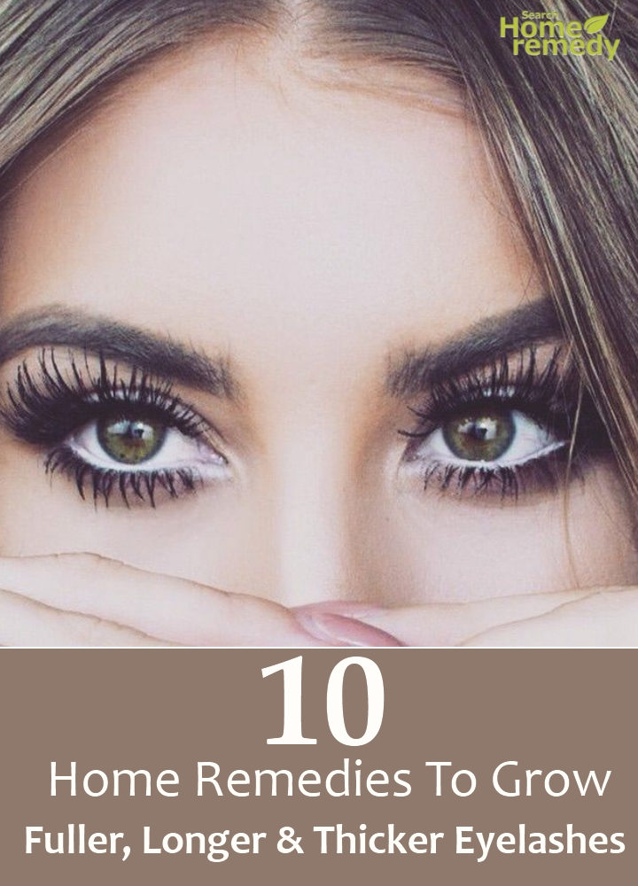 Remedies To Grow Fuller, Longer And Thicker Eyelashes
