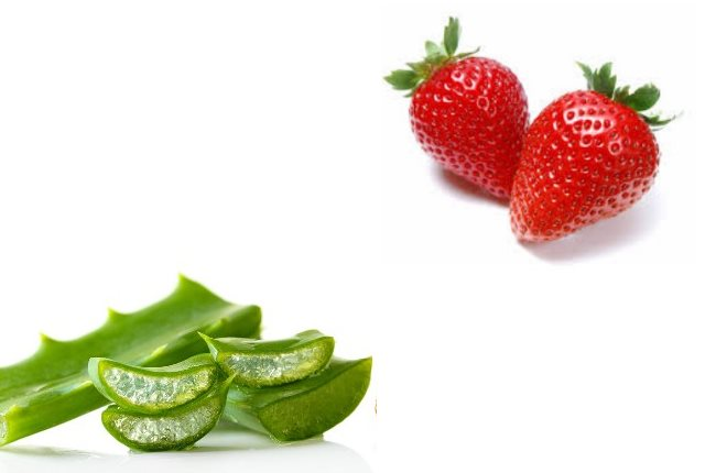Strawberry Aloe Vera For All Skin