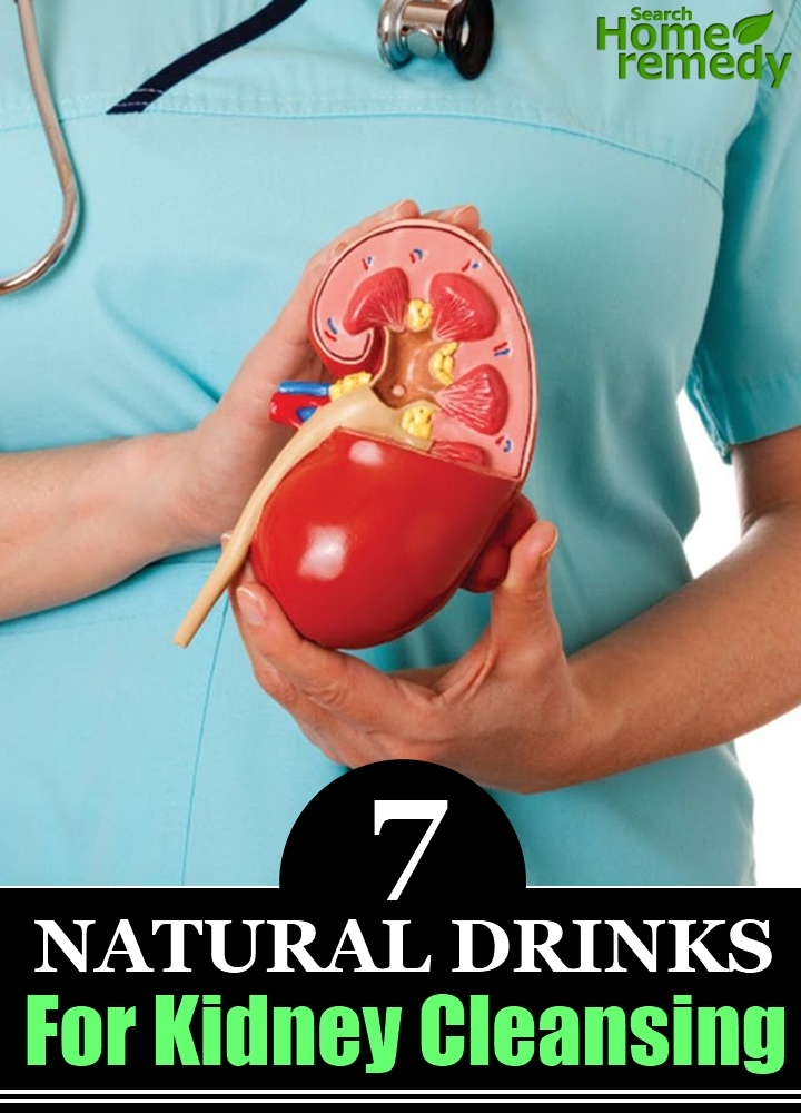 7 Natural Drinks For Kidney Cleansing