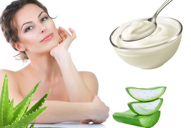 Aloe Gel Yogurt Mask