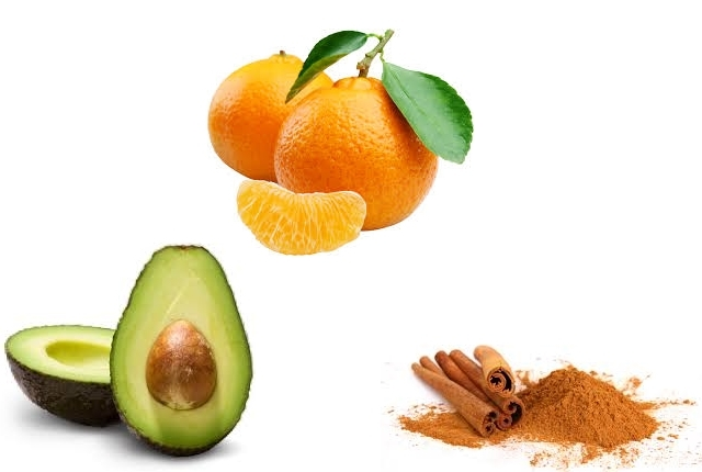 Avocado Orange Cinnamon Honey Mask
