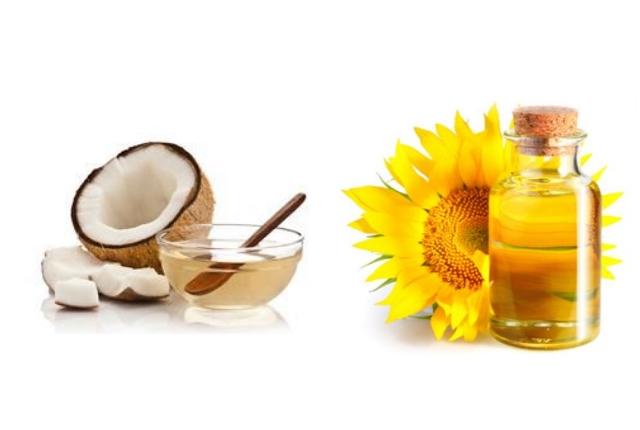 Coconut Oil And Vitamin E Oil Pack