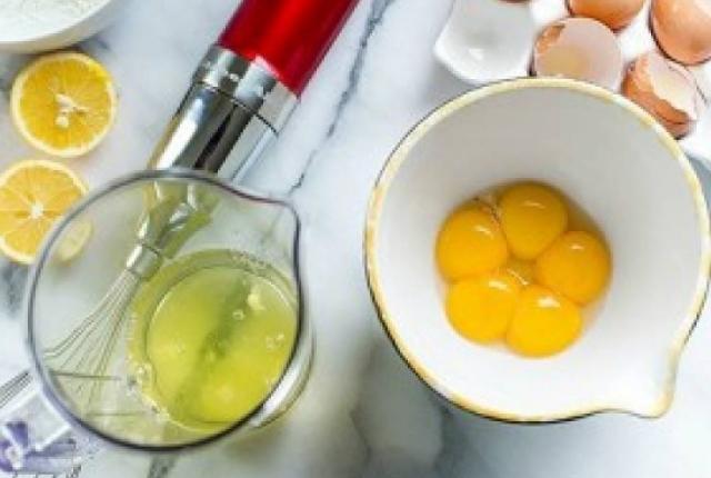 Use Egg Yolk With Lemon Juice