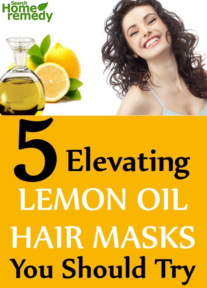 Elevating Lemon Oil Hair Masks You Should Try