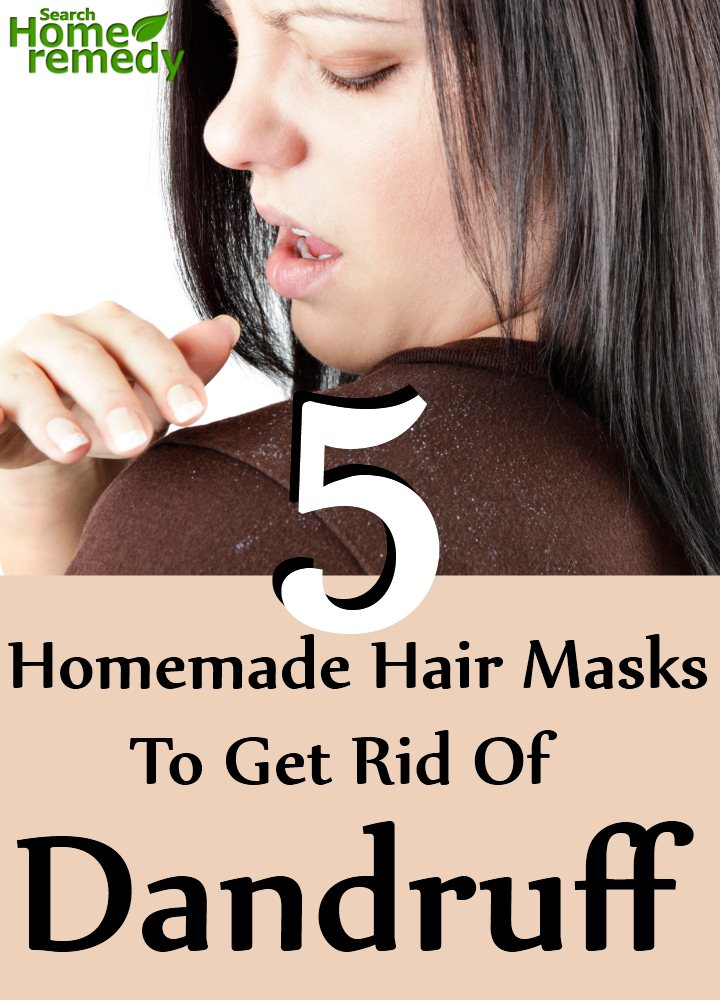 Hair Masks To Get Rid Of Dandruff