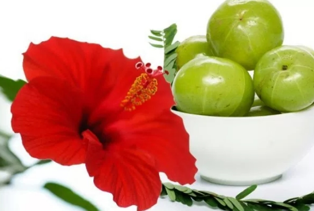 Hibiscus And Indian Gooseberry Mask