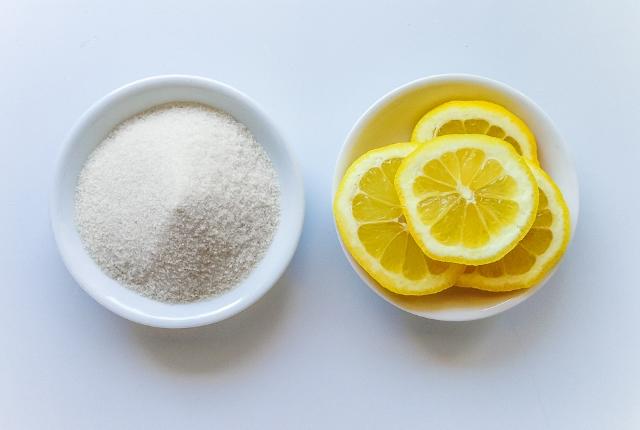 Lemon Juice And Sugar