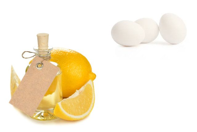Lemon and Egg Hair Mask