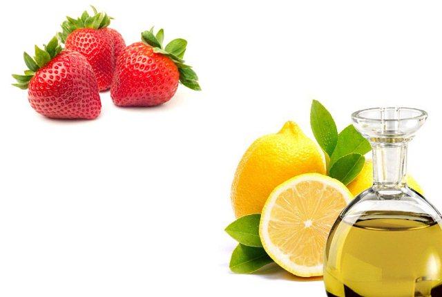 Lemon and Strawberry Hair Mask