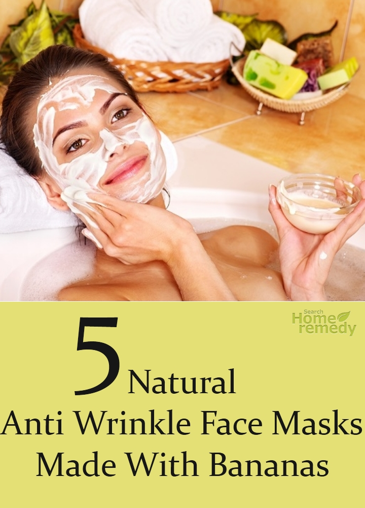 Natural Anti Wrinkle Face Masks Made With Bananas