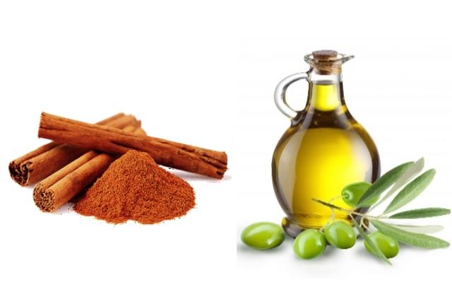 Olive Oil Cinnamon Mask