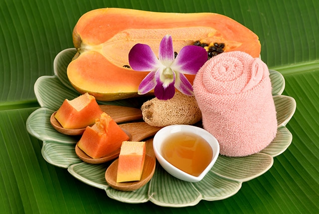 Papaya Pulp And Honey Face Pack