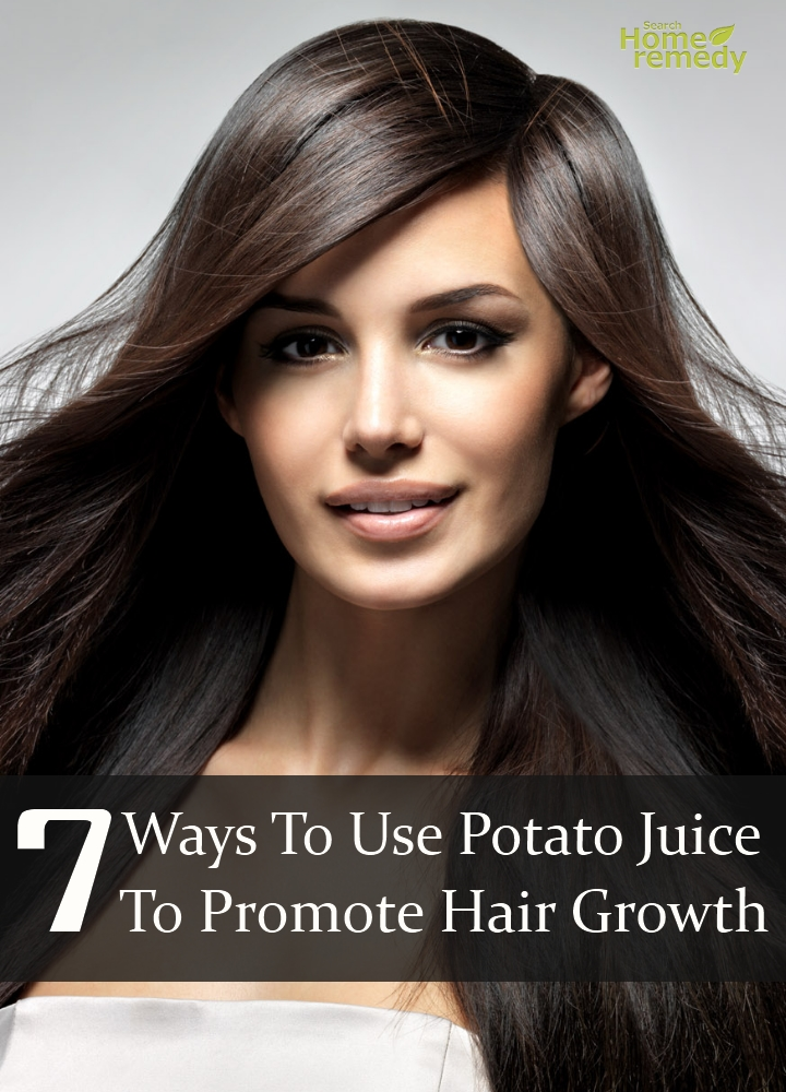 Potato Juice To Promote Hair Growth