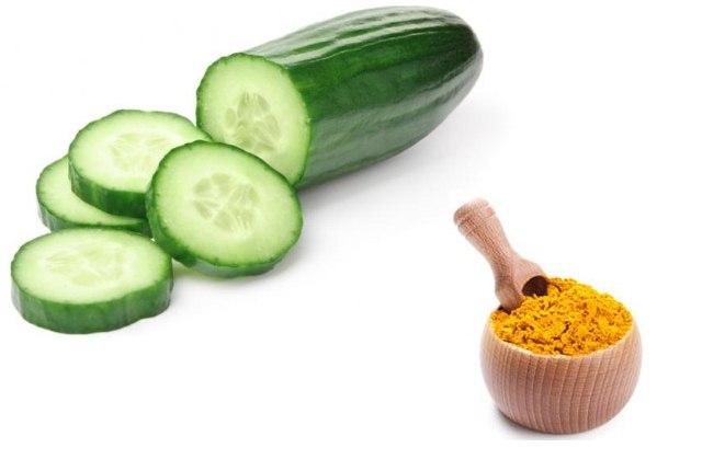 Turmeric With Cucumber