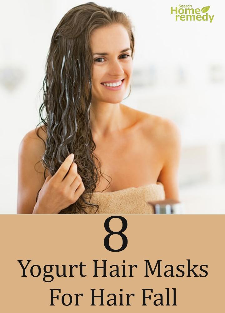 Yogurt Hair Masks For Hair Fall