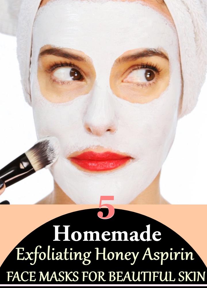 5 Homemade Exfoliating Honey Aspirin Face Masks for Beautiful Skin