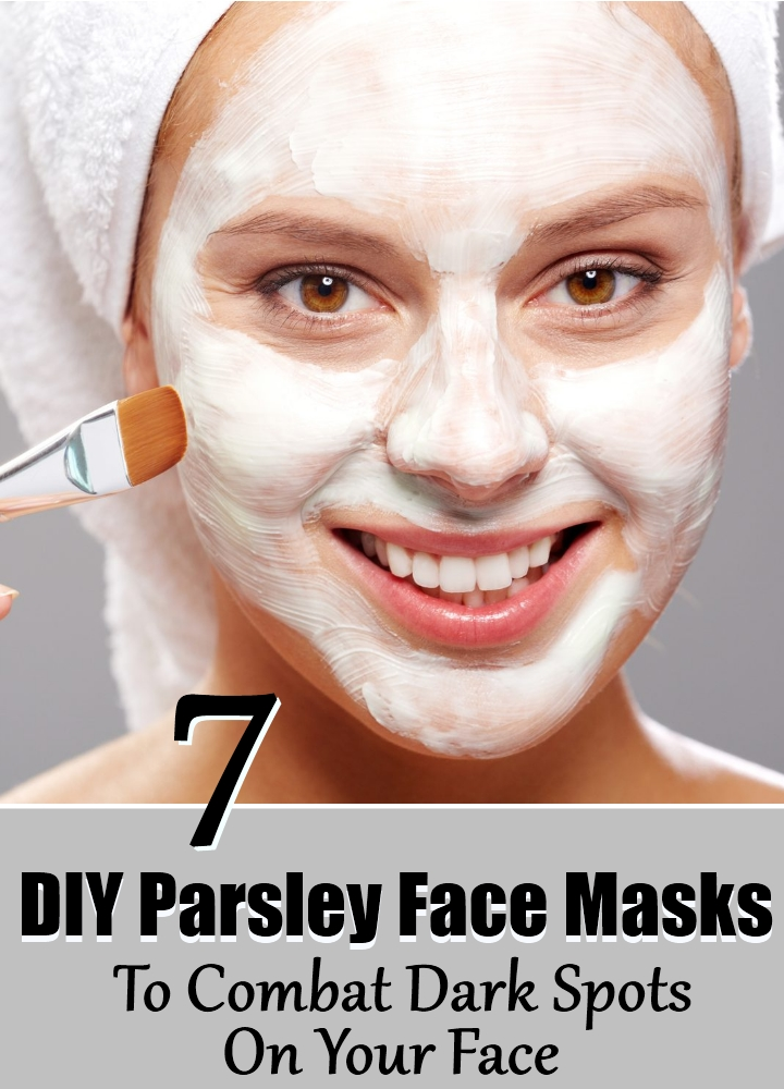 7 DIY Parsley Face Masks To Combat Dark Spots On Your Face