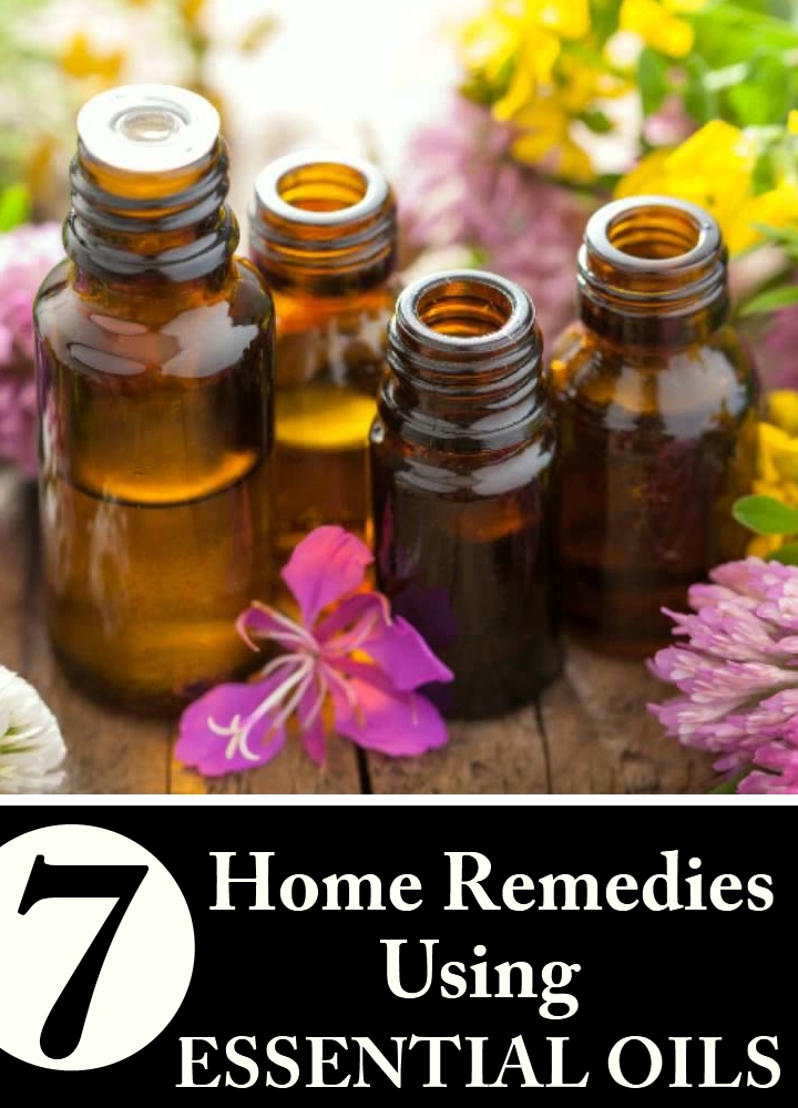 7 Home Remedies Using Essential Oils