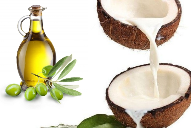 Coconut Milk And Olive Oil Shampoo