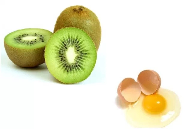 Egg And Kiwi Mask