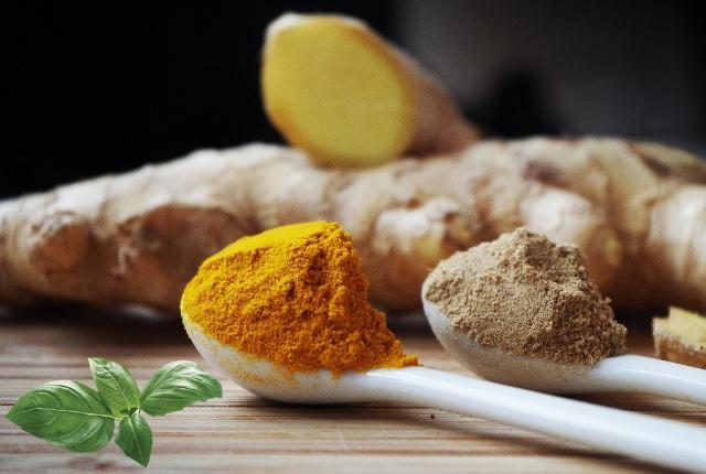 Ginger, Turmeric And Holy Basil