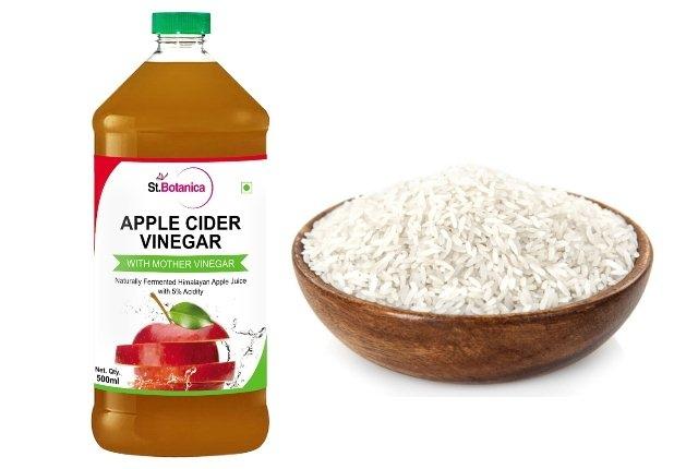 Rice And Apple Cider Vinegar Scrub