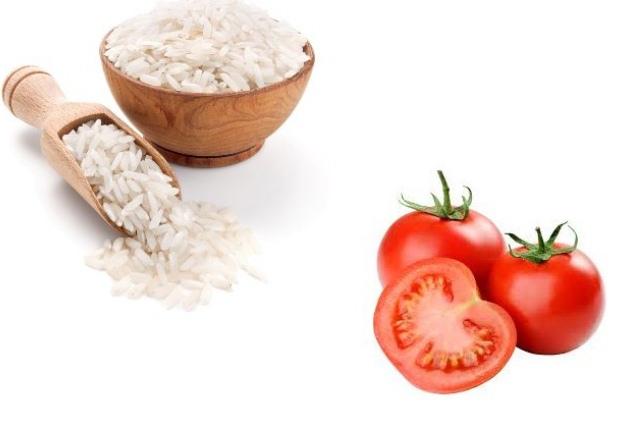 Rice & Tomato Scrub